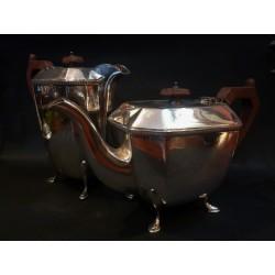 Teiera e caffettiera in sheffield - Inghilterra - 1920/30