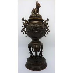 brucia incenso in bronzo - Giappone - 1900 ca